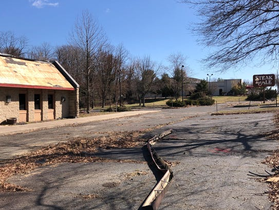 The former Steak & Ale property on Route 35 in Middletown.