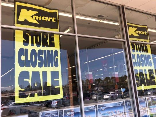 Kmart in Brick is closing.