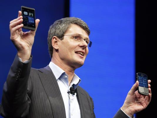 AP RIM Blackberry Makeover