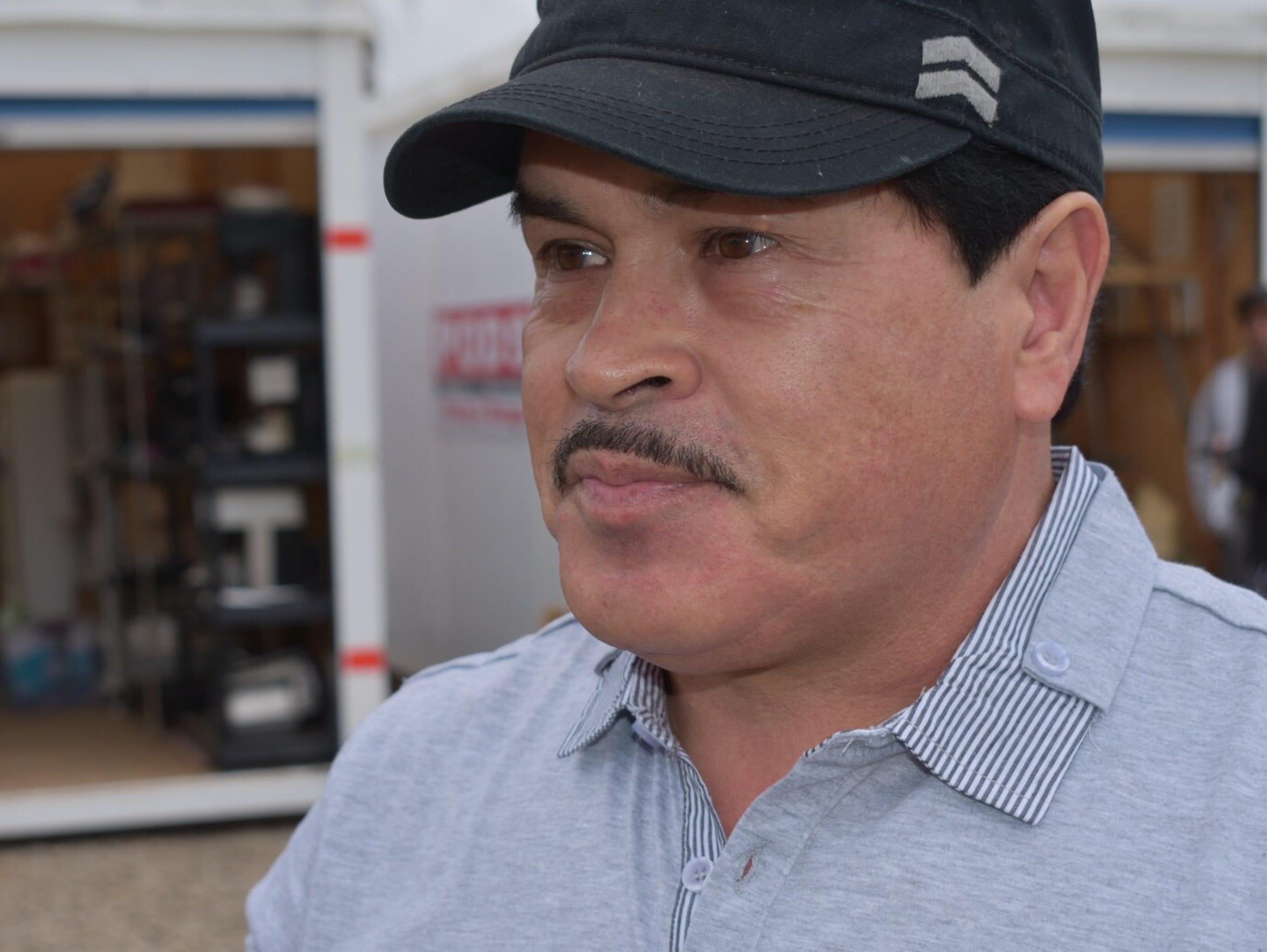 Daniel Vazquez, of Upper Ojai, was temporarily homeless