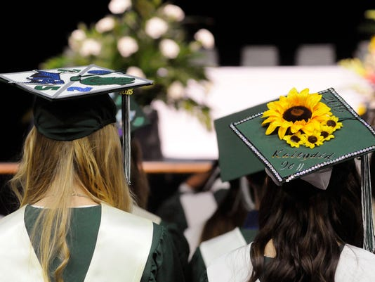 Spackenkill High School's 2015 graduation