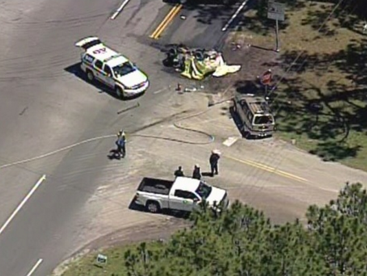 Woman, 3 children killed in fiery DeLand crash