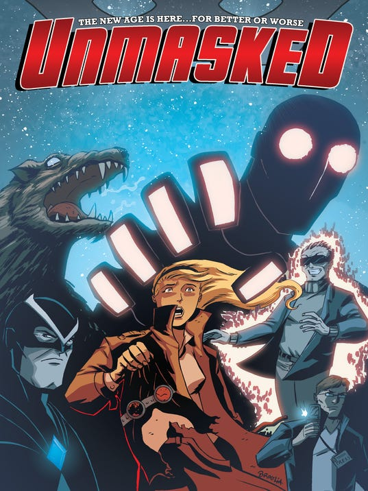 Unmasked 2 cover