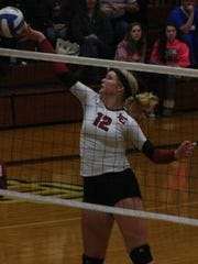 Anne Yost is one of the best middle hitters in the