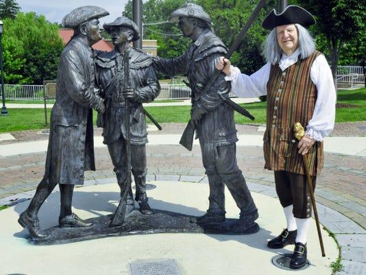 CPO-Founding Fathers statue