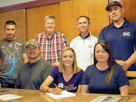 Courtesy Photo   Deming golf standout Shelby Turner signed with the Western New Mexico University women's golf team.