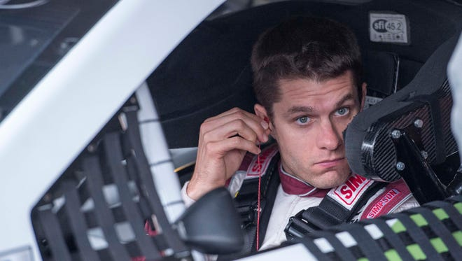David Ragan, above, will team with Landon Cassill for Front Row Motorsports this season.