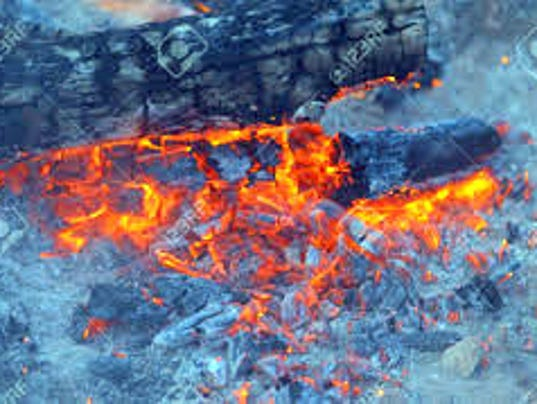 campfire embers