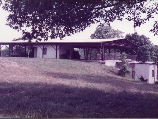 The main building of Lylewood Christian Camp includes