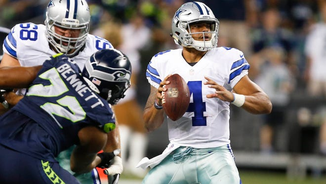 The Dak Prescott era at the Dallas Cowboys may have begun earlier than his coaches expected. With the news that Tony Romo suffered a broken bone in his back, Prescott may be running the offense for some time.