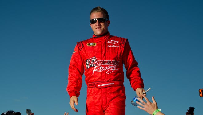 A.J. Allmendinger drove the No. 51 and the No. 47 car in the Sprint Cup Series this season.