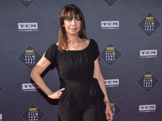 Actress and writer Illeana Douglas, shown here in April