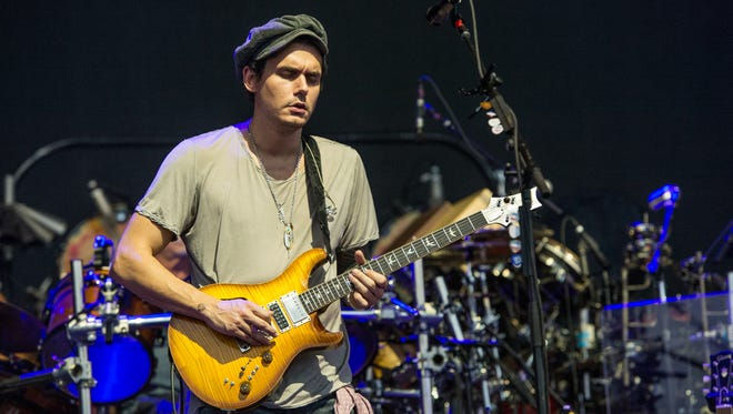 John Mayer performs at Bonnaroo Music and Arts Festival on Sunday, June 12, 2016, in Manchester, Tenn.
