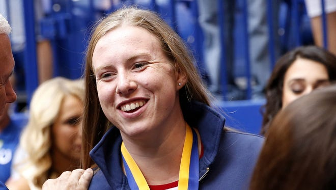 FILE  -- IU swimmer Lilly King