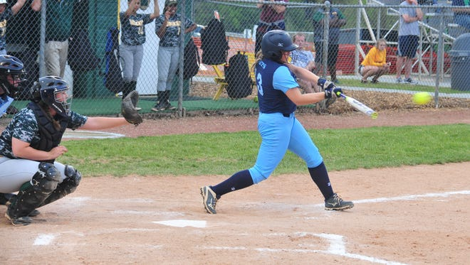 Enka and Reynolds met in a Mountain Athletic Conference softball game earlier this week.
