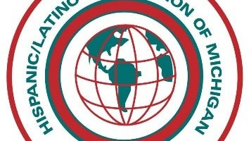 Logo of the Hispanic/Latino Commission of Michigan.
