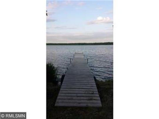 Little Rock Lake is just outside 11043 West Lake Road near Rice.
