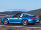 Standard AWD and a choice of 350-horsepower or 400-horsepower H6 engines guarantee blistering performance in the 2014 Porsche Targa. It hits 0-60 mph in 4.2 seconds and has a182 mph top speed.