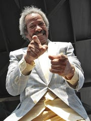 World-renowned stars and home folks who love New Orleans' rich musical heritage crowded into a historic theater Friday to bid farewell in words and song to Allen Toussaint, a prolific songwriter, performer and producer who died last week at age 77.