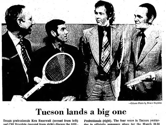 In 1974, the Tucson Citizen newspaper reported a new