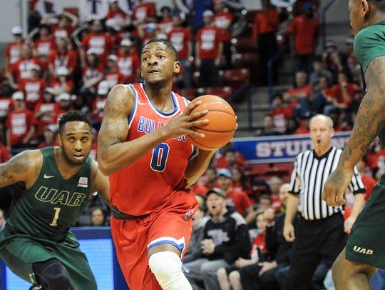 Louisiana Tech senior guard Alex Hamilton earned Conference