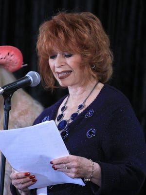 Beverly Washburn appears at a previous SPERDVAC convention.