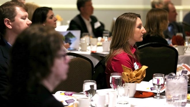 The Greater Binghamton Chamber of Commerce 2018 Economic Forecast and Building BC Awards, held on Tuesday, February 13, 2018, at the Holiday Inn in downtown Binghamton.