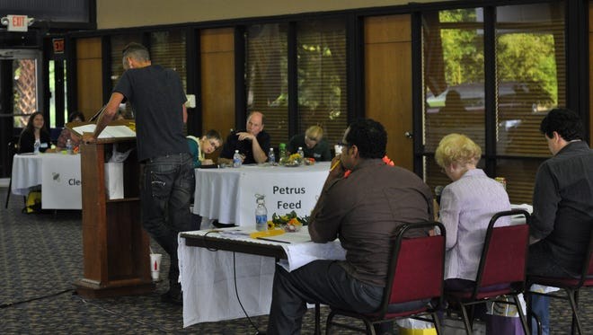 The Central Louisiana chapter of Volunteers of America hosted a spelling bee Thursday to raise money for its Partners in Literacy program, which teaches adults how to read.
