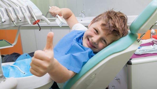 I'm at the dentist