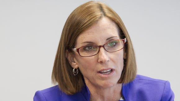 Rep. Martha McSally authored a bill that President Obama signed into law on Friday. It restores the rights of women World War II pilots to be interred in Arlington National Cemetery.