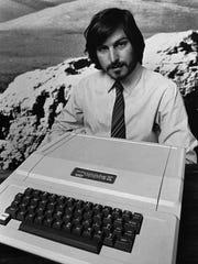 Apple Computer Inc. founder Steve Jobs introduces the