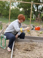 Sitting for some gardening tasks can give your back