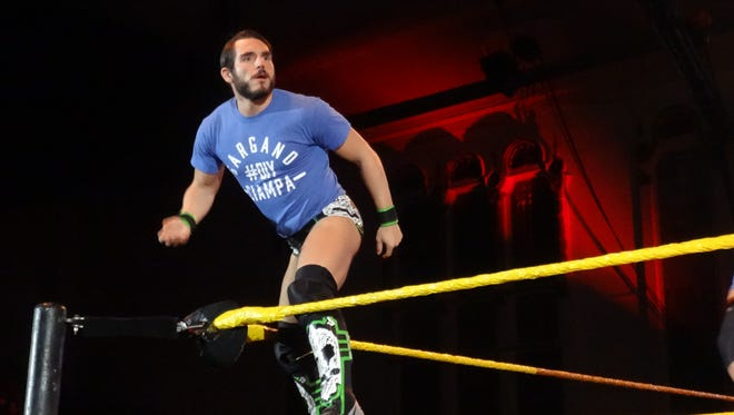 Johnny Gargano, pictured in Asbury Park in January, is on the card for NXT in Toms River in 2018.