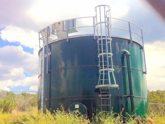 new 35,000 storage tank nogal