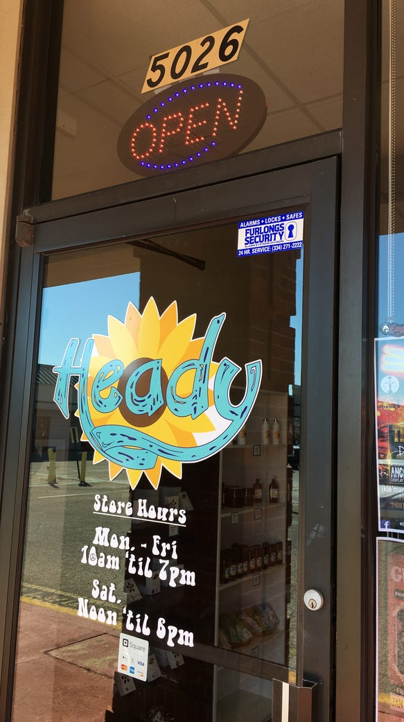 Heady Boutique in Montgomery is in a spot previously
