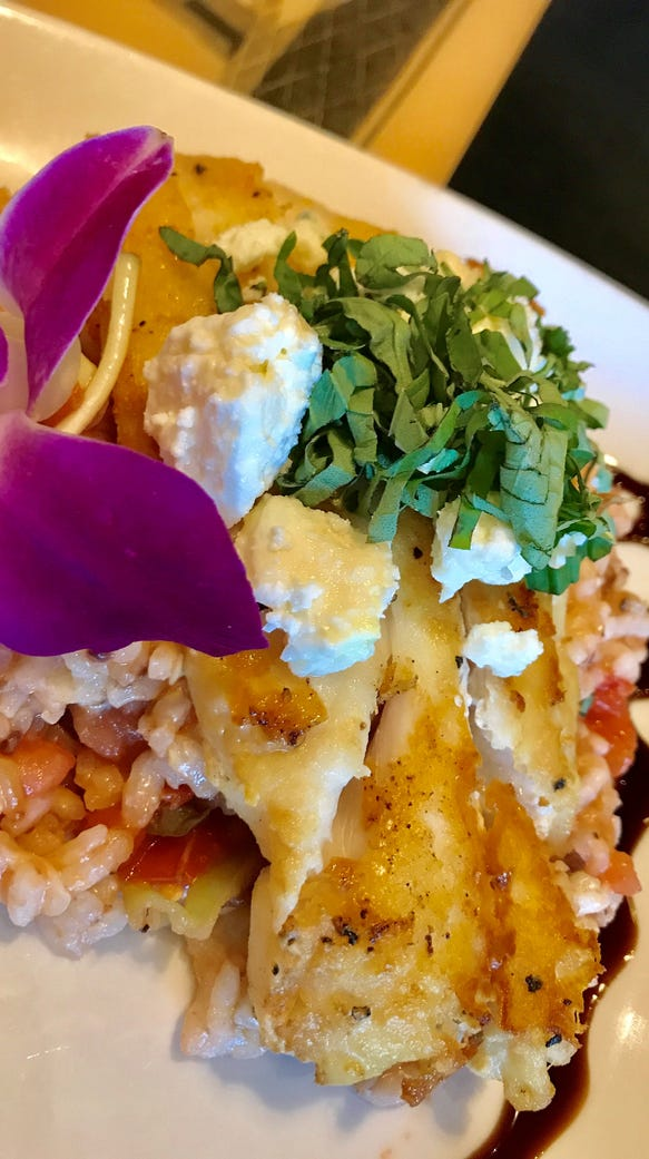 The Mediterranean Catch at Pizza Gallery and Grill,