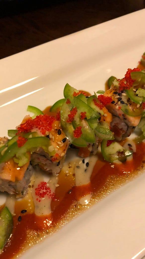 Oshima's Pacific roll.
