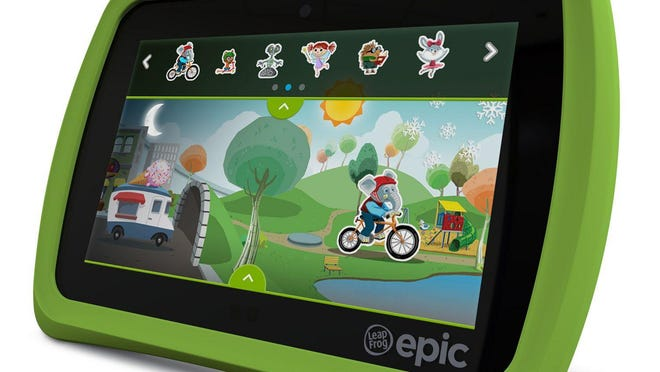 The LeapFrog Epic is a tablet children can call their own — and it gives parents the peace of mind knowing the content is fun, appropriate, and centered around learning, personalization and creativity.
