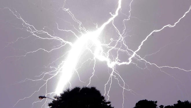 PNJ reader Sammy Cohen shared this amazing photo of lightning during a thunderstorm in the Pensacola area.