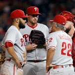 Asher strong in return, Phillies beat Nationals 4-1
