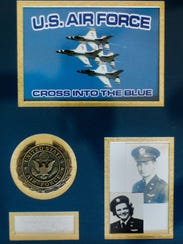 Mildred (Jane) Doyle, 96, a member of the Women Airforce