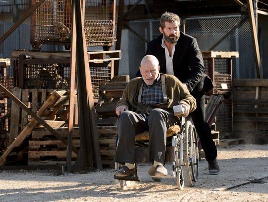 Hugh Jackman (Logan) and Patrick Stewart  (Charles)