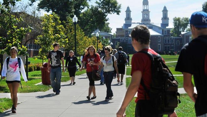 University of South Dakota campus