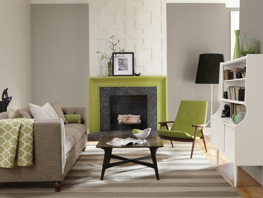 add new life to your home with pantone 39 s color of the year greenery. Black Bedroom Furniture Sets. Home Design Ideas