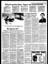 Battle Creek Sports History - Week of March 23, 1977