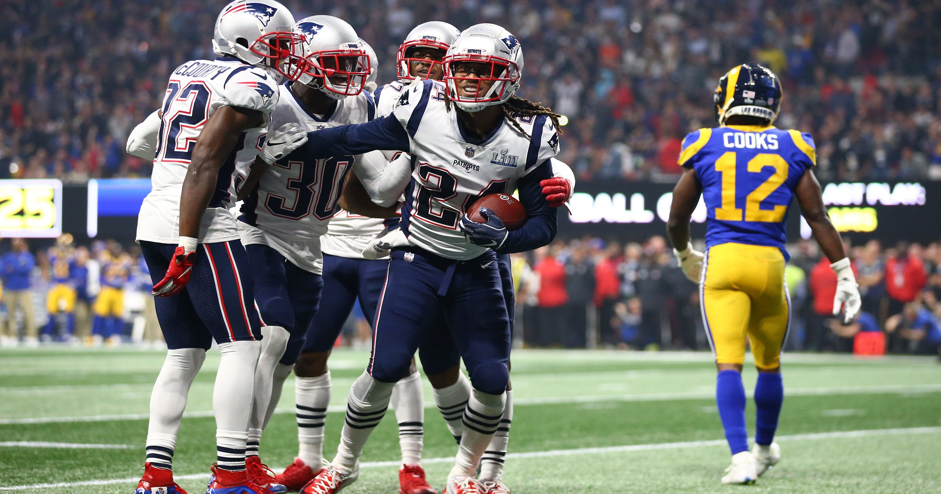 Super Bowl  New England Patriots win over L.A. Rams was lowest-scoring 2874aa901