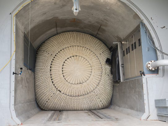 ILC Dover's new Resilient Tunnel Plug undergoes a demonstration