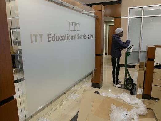 ITT Tech will have the office  furniture and equipment
