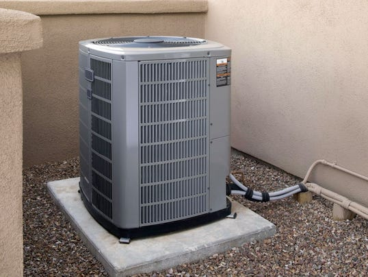 Spray the cockroaches not your air conditioner for Outdoor ac unit pad