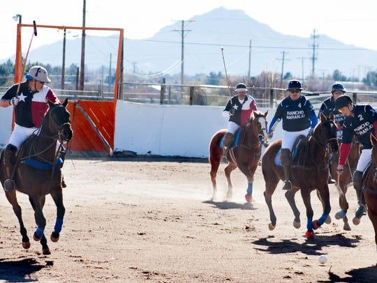 Rancho Naranjo team members Ric Lara, from left, Henri